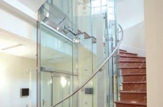 ascensore a colonna panoramico
