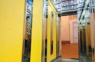 ascensore interno design