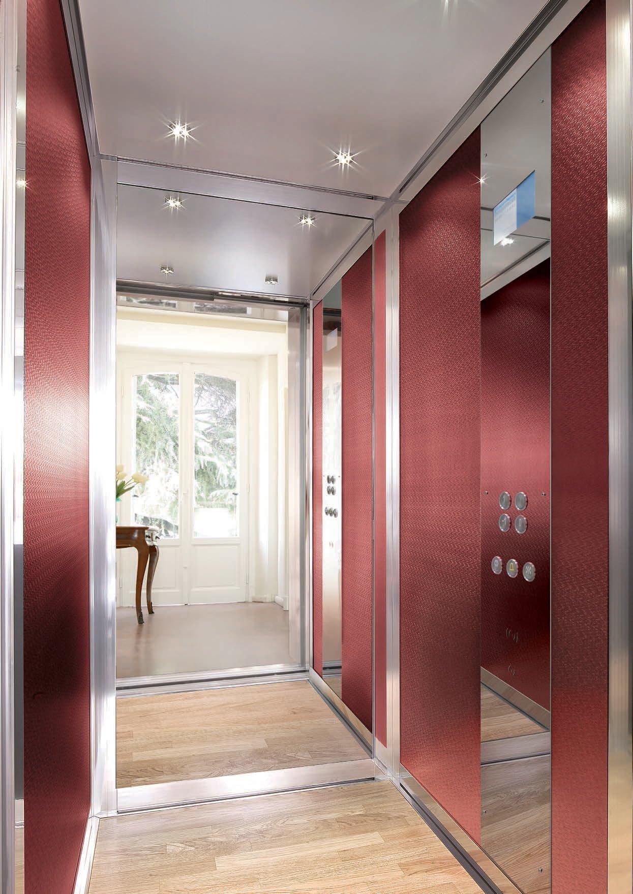 Ascensori interni per appartamenti prezzi e tipologie gruppo millepiani ascensori - Scale per appartamenti ...