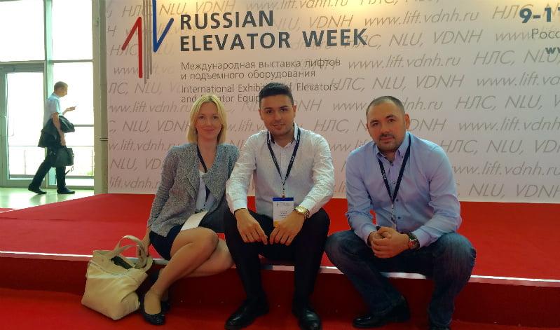 Gruppo Millepiani alla Russian Elevator Week 2015