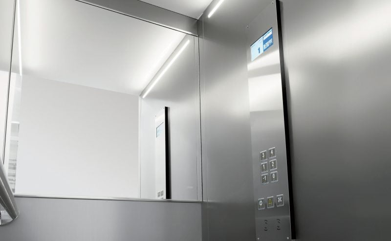 Mini ascensori interni per appartamenti