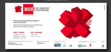 Gruppo Millepiani al MADE Expo 2017