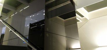 Ascensori in vetro di design: le cabine custom di Gruppo Millepiani