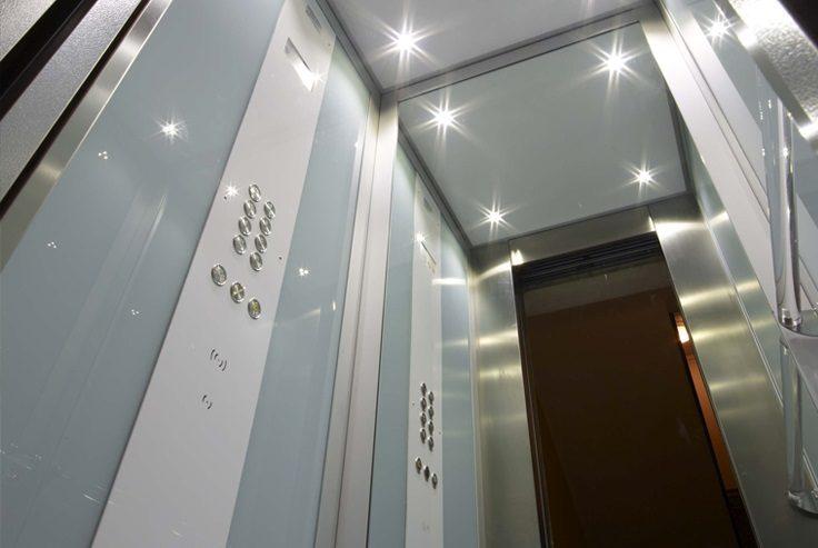 Il vano ascensore nel privato e nel pubblico