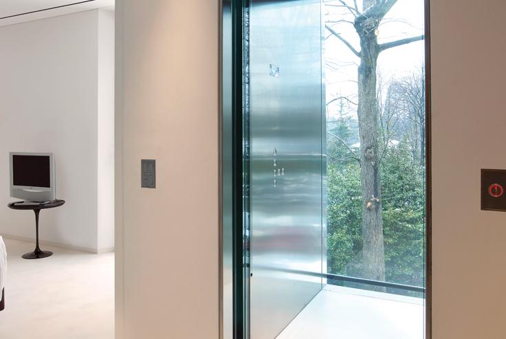 I miniascensori interni per appartamenti caratteristiche for Appartamenti interni