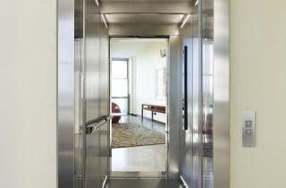 Esempio ascensore interno per ufficio