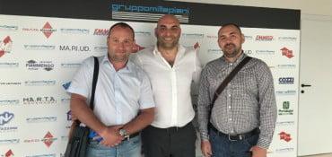 Dalla Russia a Millepiani Elevators: visita di Gilmutdinov e Zabolotsky