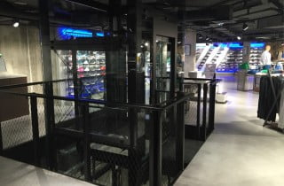 Millepiani Group renouvelle la technologie verticale de ADIDAS BRAND CENTER PARIS