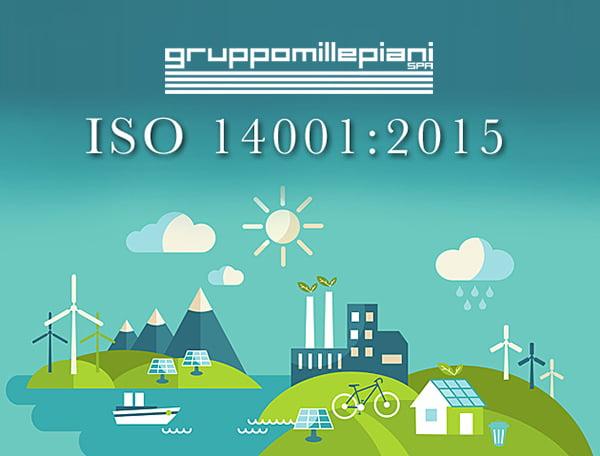 Certificazione ISO 14001:2015 sistema di gestione ambientale