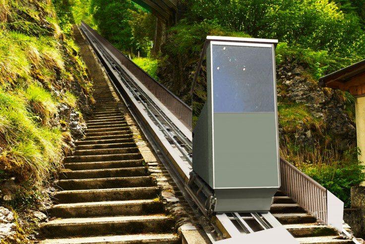 Come funzionano gli ascensori inclinati? Quali sono le loro caratteristiche?